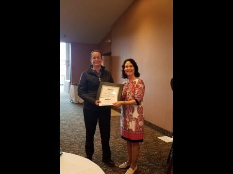 Non-WAMDA Special Recognition Award winner- Dr. Janivette Alsina