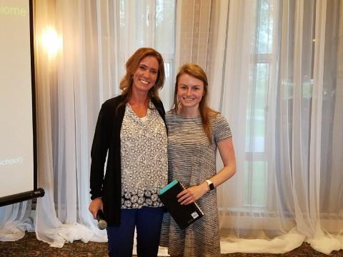 WAMDA Scholarship winner- Ashley Kratovil