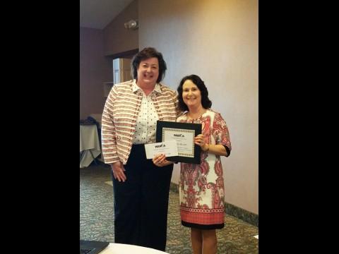 WAMDA Special Recognition Award winner- Diane Krol RD, LDN