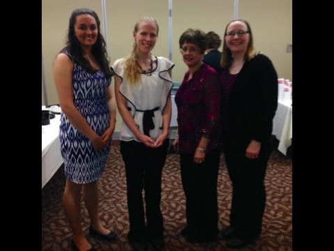 Scholarship Winners - Toni Ambrogio & Samantha McCarthy